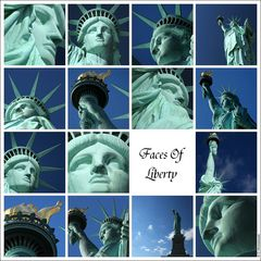 New York City - Faces Of Liberty [Part I]