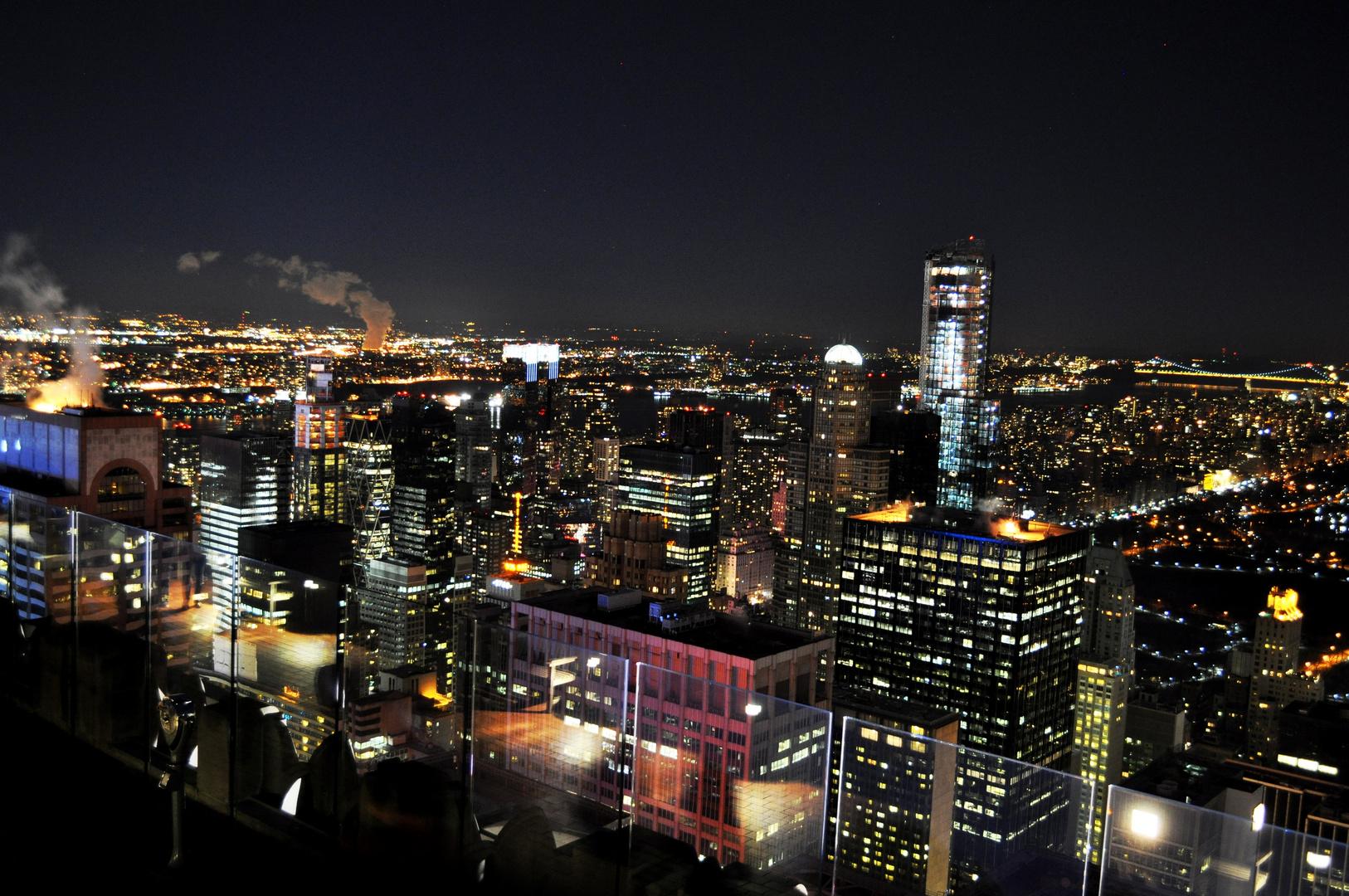 New York City - Manhatten - Rockefeller Center - Top Of The Rock