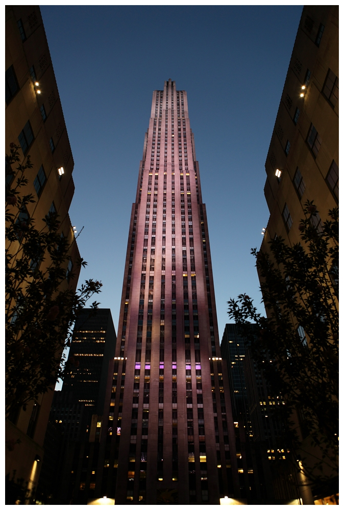 New York City, Rockefeller Building