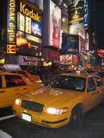New York City Taxi - Times Square