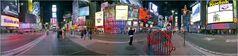 New York City - Times Square Pano