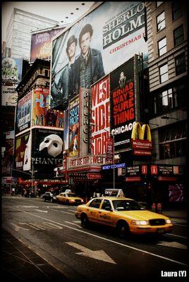 New York die Stadt die niemals schläft.