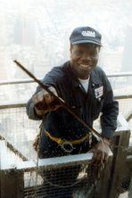 New York Fensterputzer vom WTC