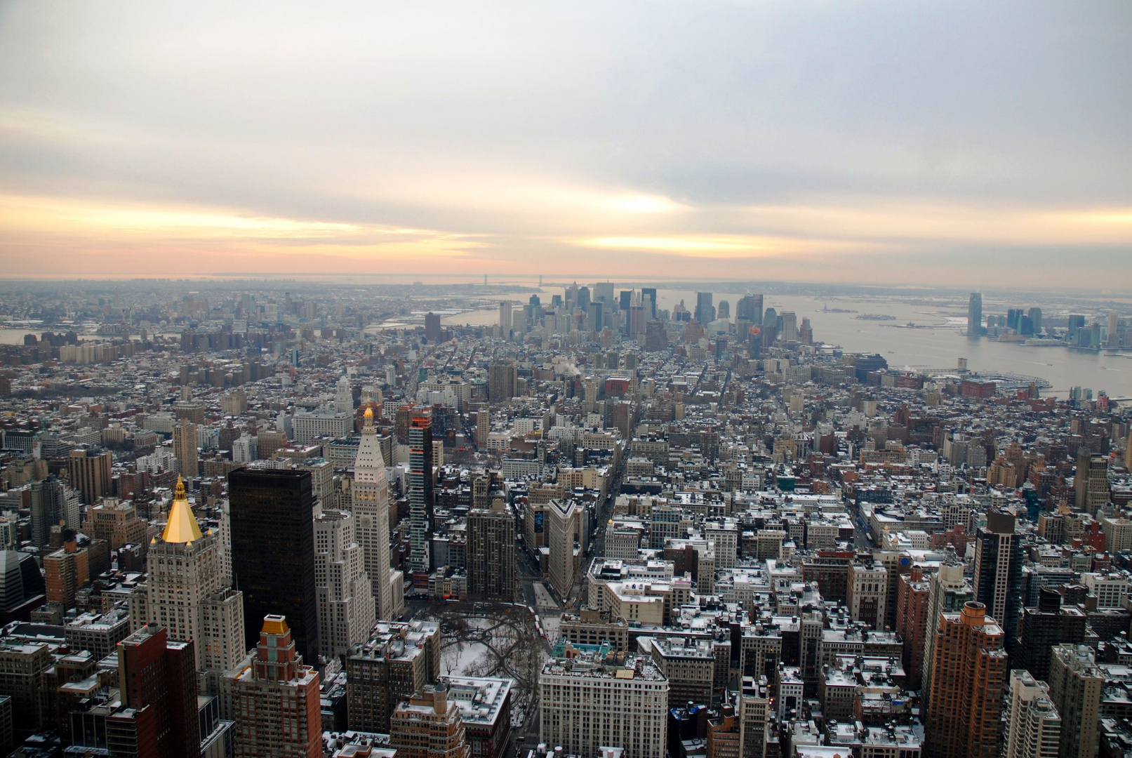 New-York from Empire State Building