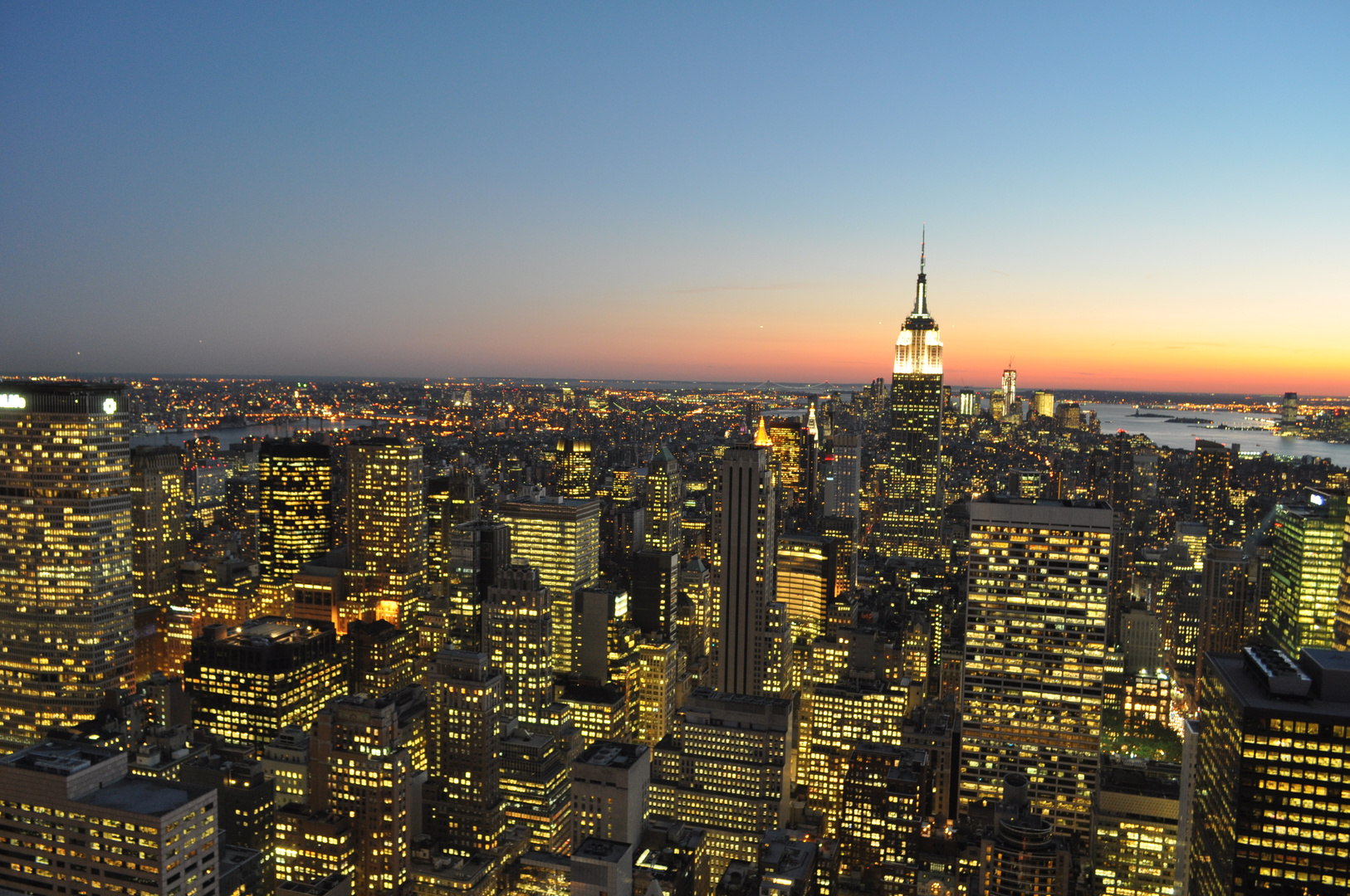 New York in der blauen Stunde