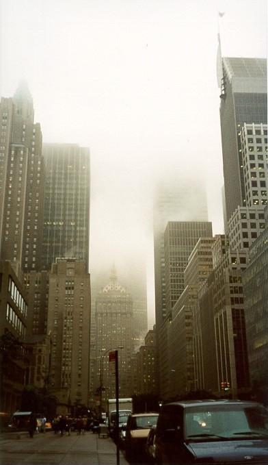 New York nach Regen