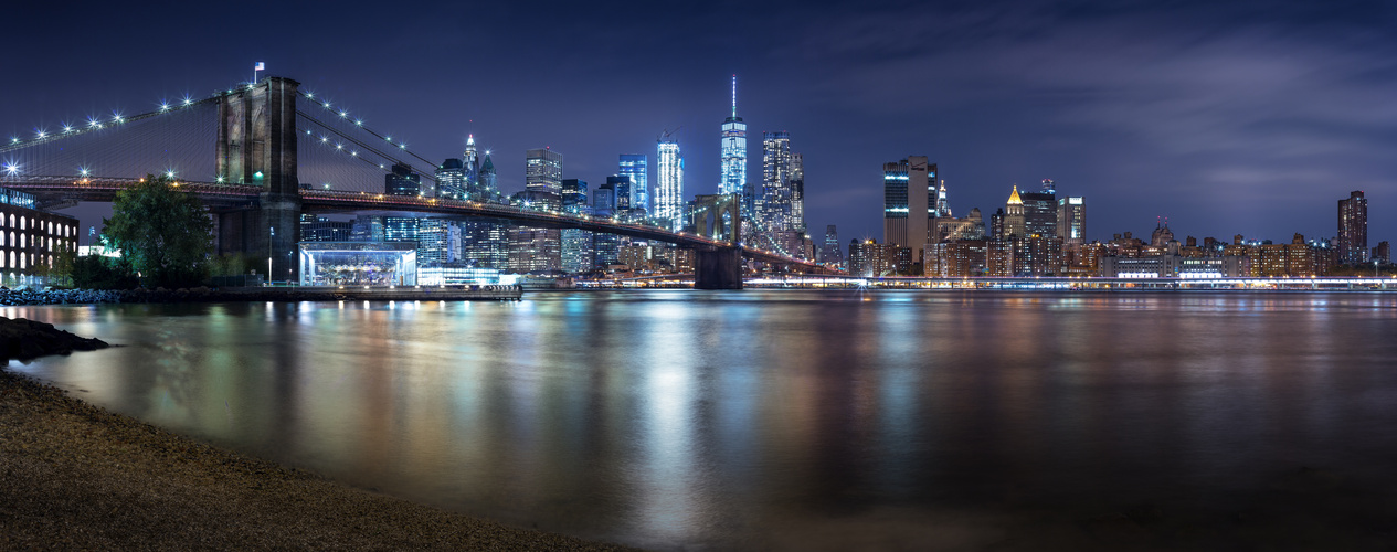 new york nacht skyline foto bild fotos city usa bilder auf fotocommunity. Black Bedroom Furniture Sets. Home Design Ideas