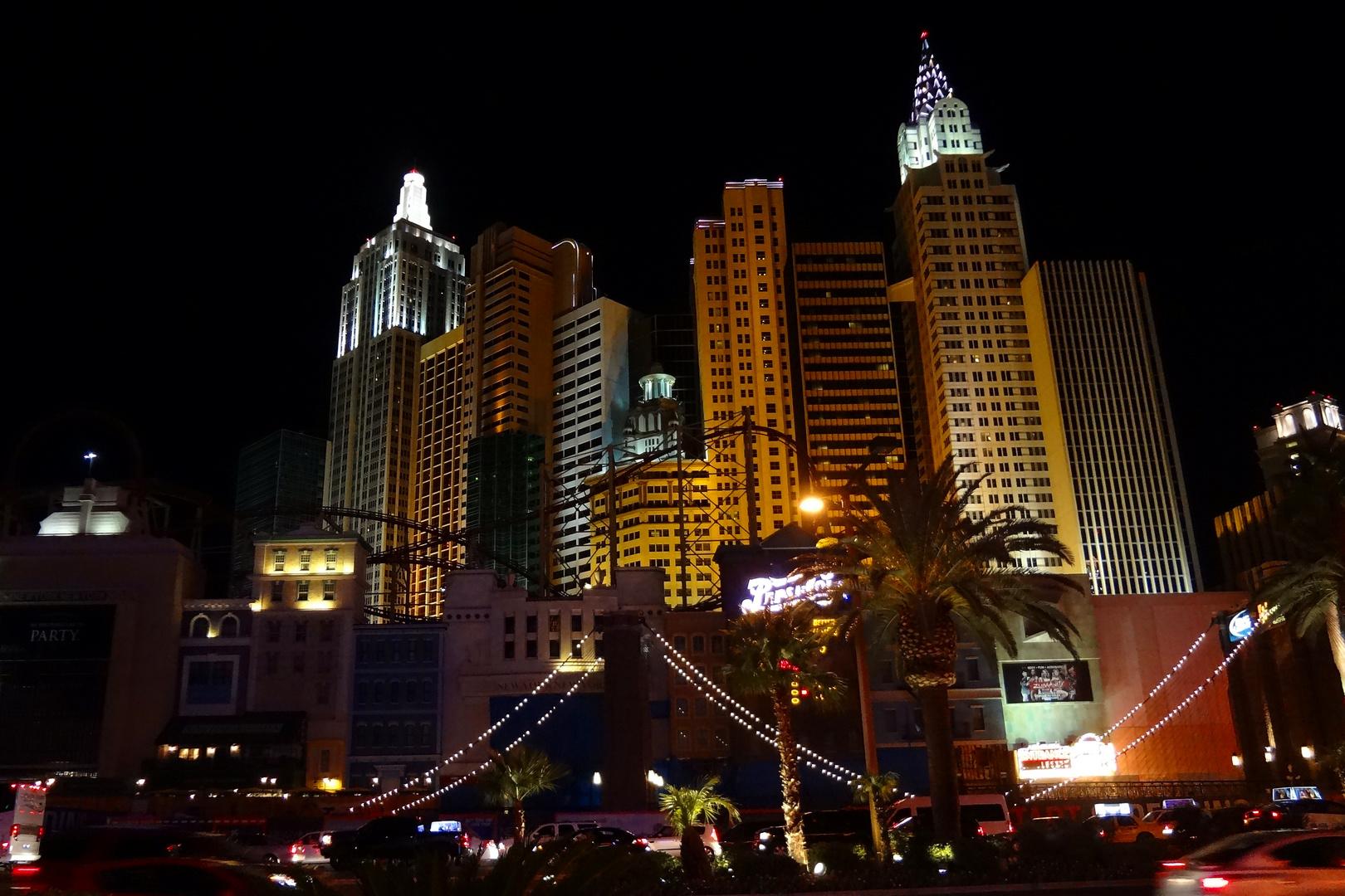 New York / New York by night