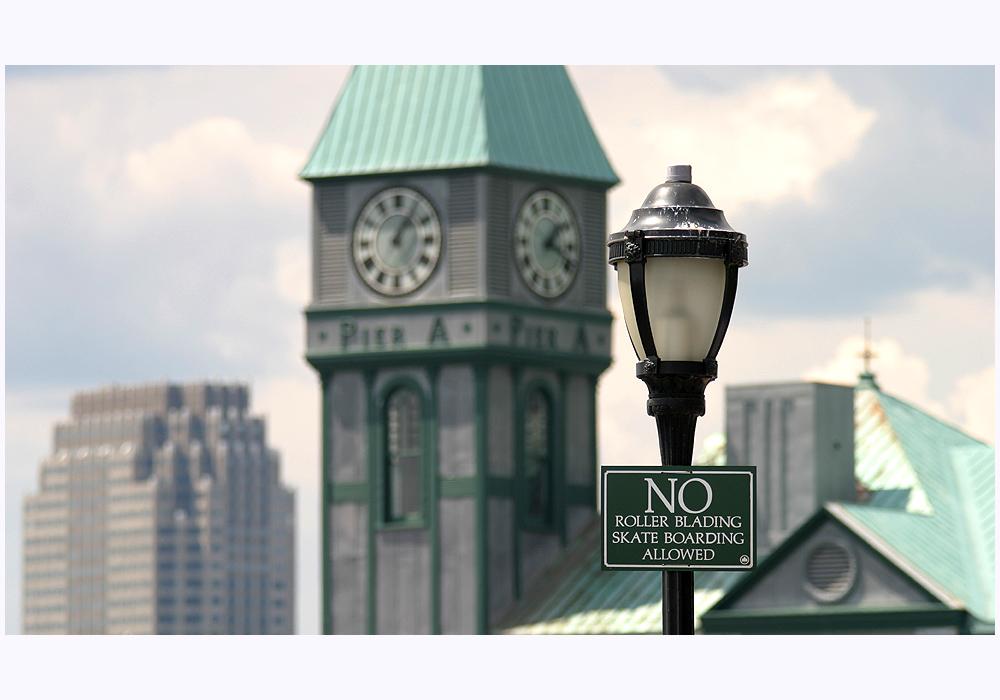 New York: No Blading at Pier A!