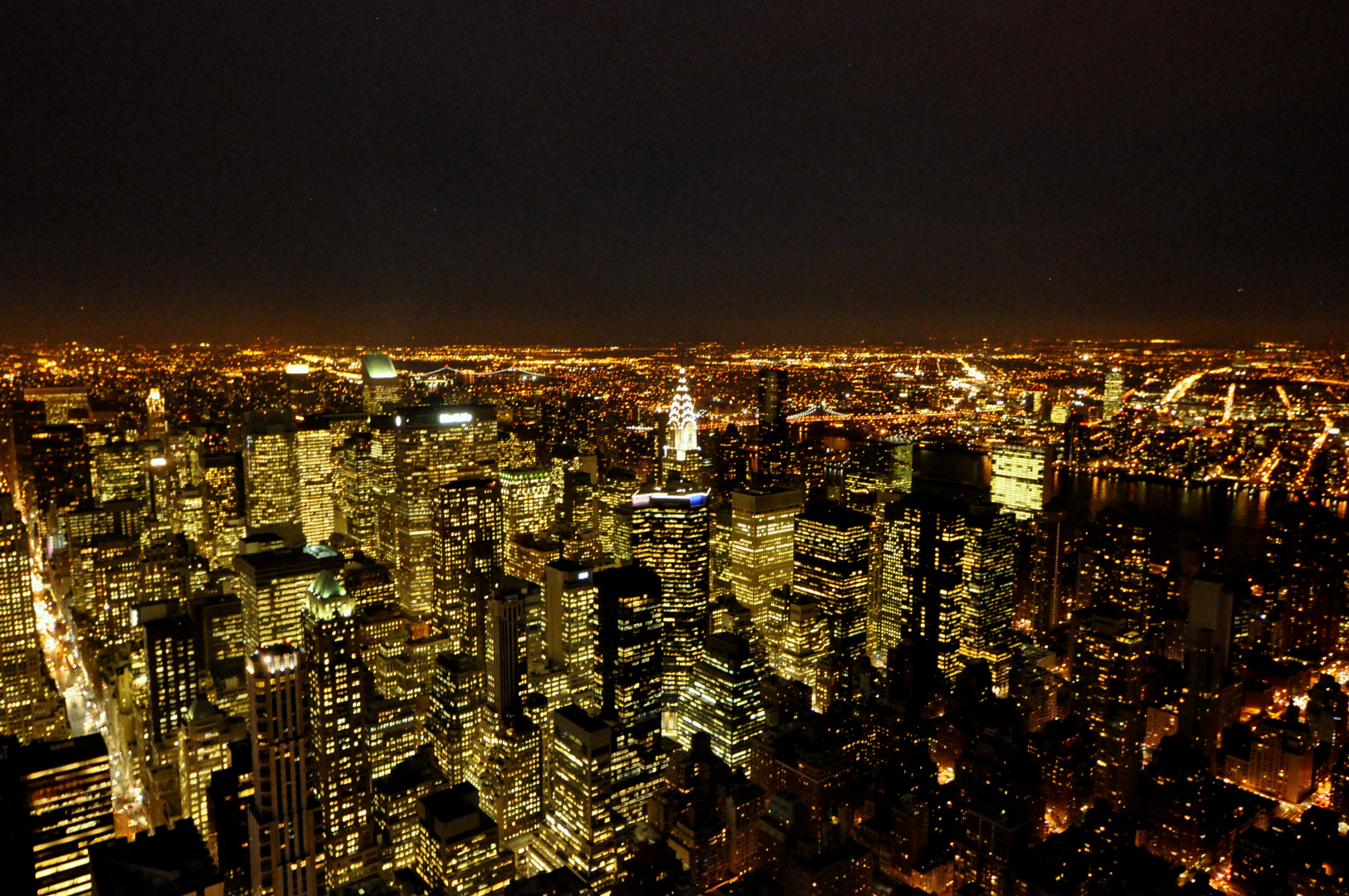 New York Skyline, Empire State Building Nord-Ost