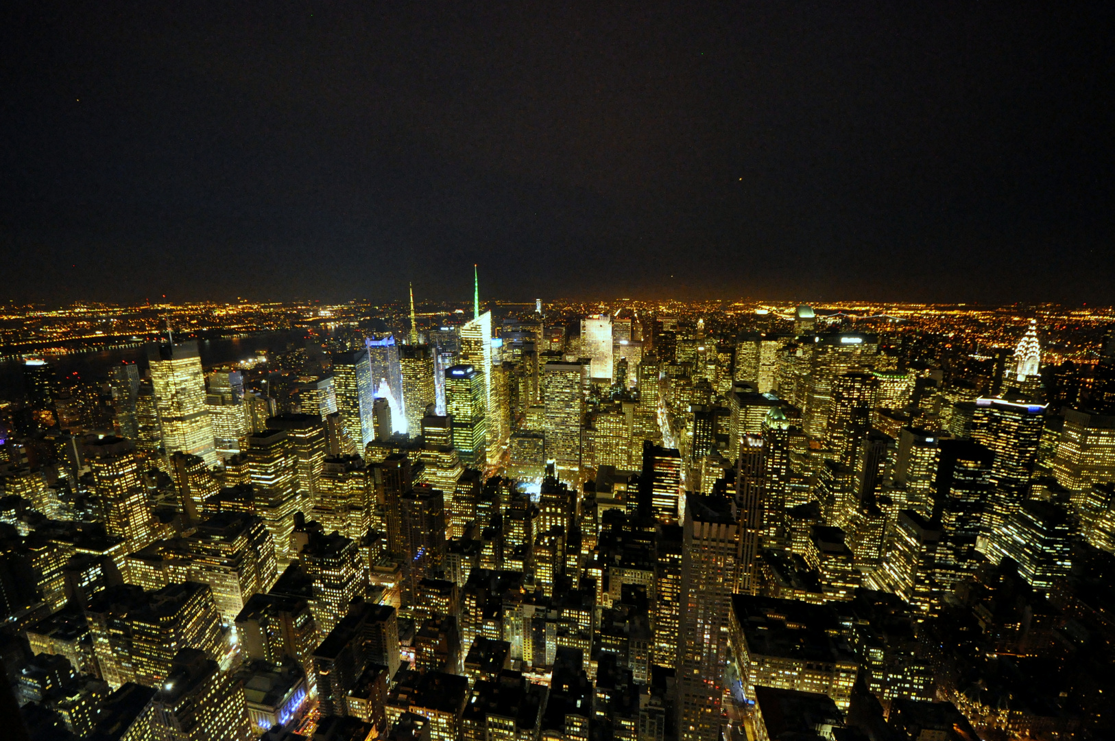 New York Skyline, Empire State Building Nord-West