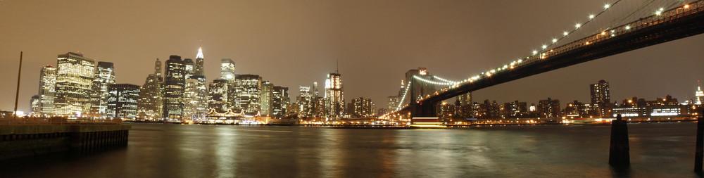 New York Skyline (Panorama)