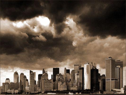 New York – Skyline von Manhattan