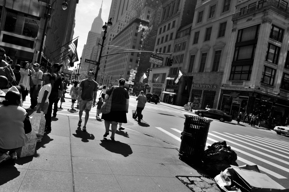 New York, Street Life II