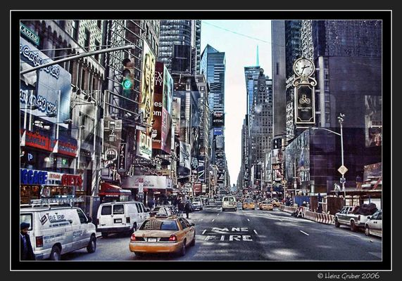 NEW YORK -Time Square -