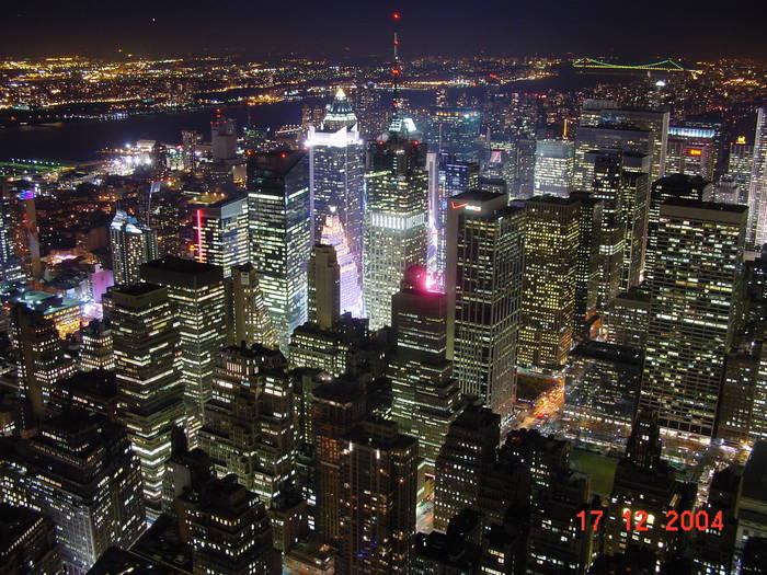 New York vom Empire State Building