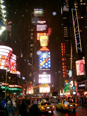 New York Weihnachten 2004