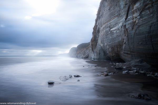 New Zealand - white cliff