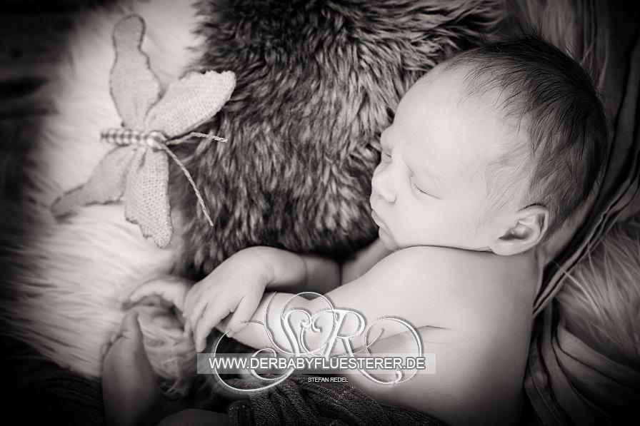 Newborn Leo, 12 Tage   (Babyfotograf Reutlingen)