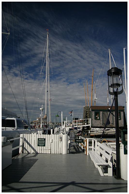 Newport Harbour-View