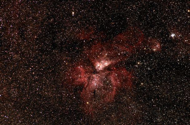 NGC 3372 Carinanebel