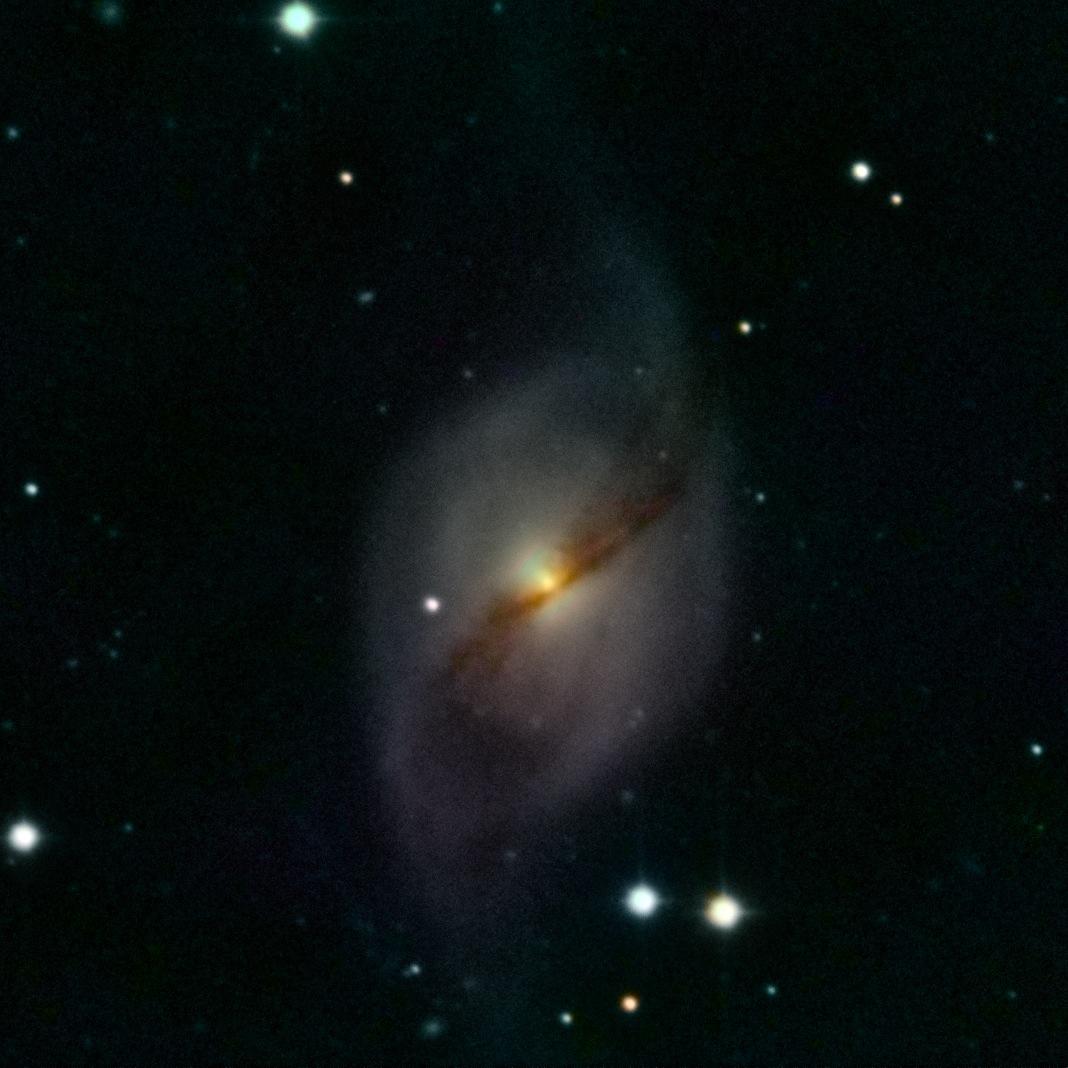 NGC 3718 im großen Wagen