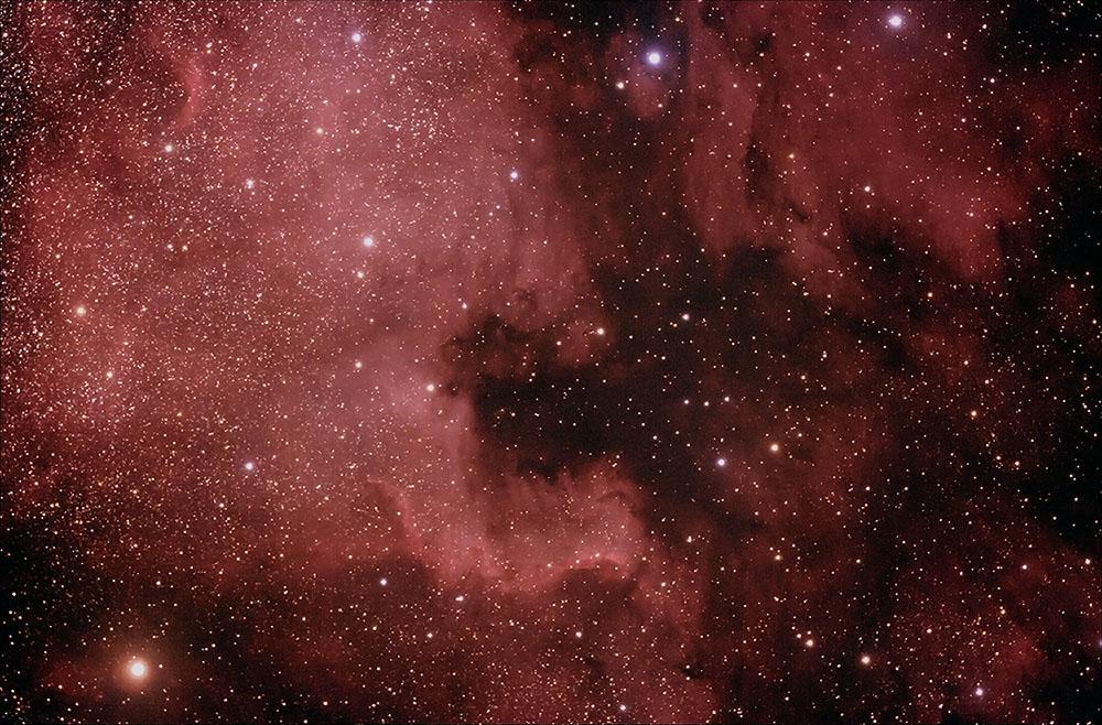 NGC 7000 und der Pelikannebel
