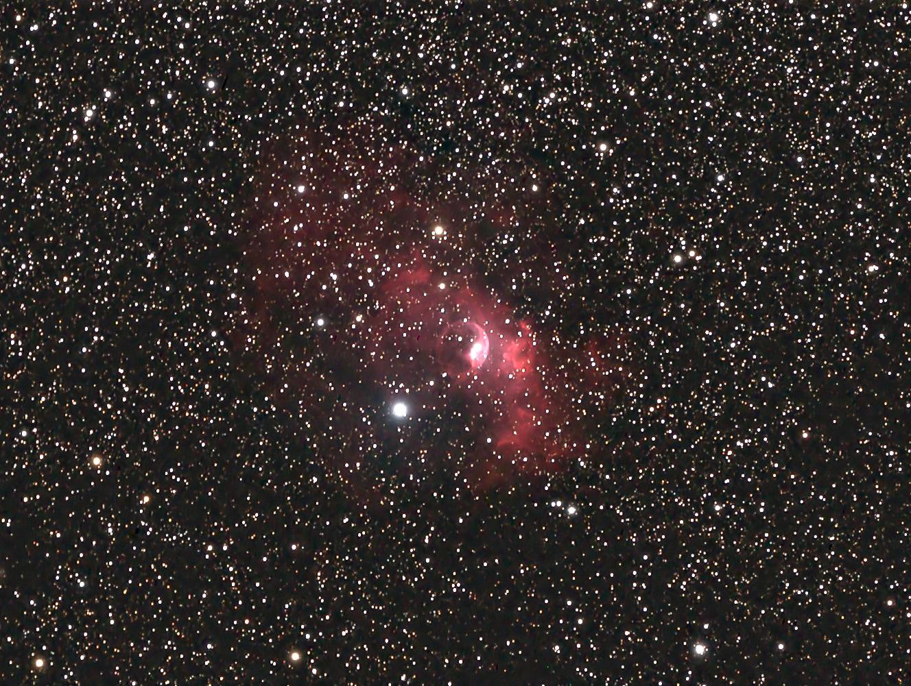 NGC 7635 Bubble Nebel
