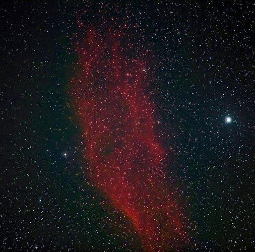 NGC1499 Californianebel