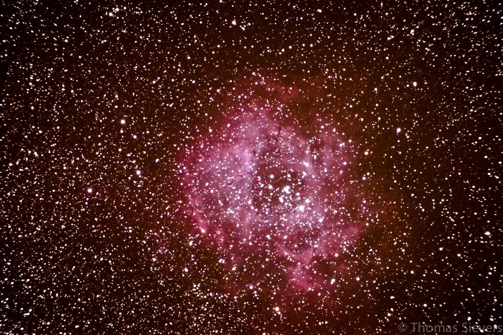 ... NGC2237 - Aufgenommen mit einer Fuji X-E1 ...