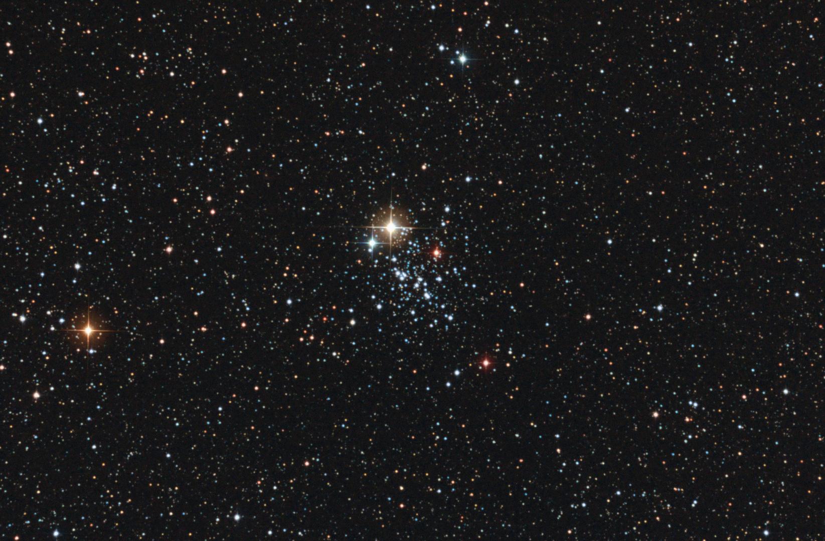 NGC457 Der Eulenhaufen