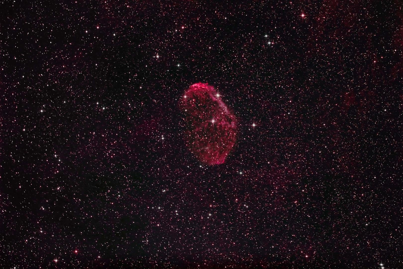 NGC6888 Crescent Nebel