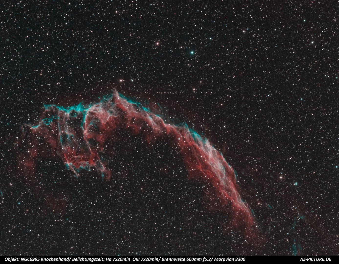 NGC6995 Knochenhand