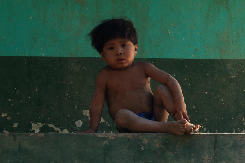 Ngöbe-Buglé Junge, Panama, Boquete