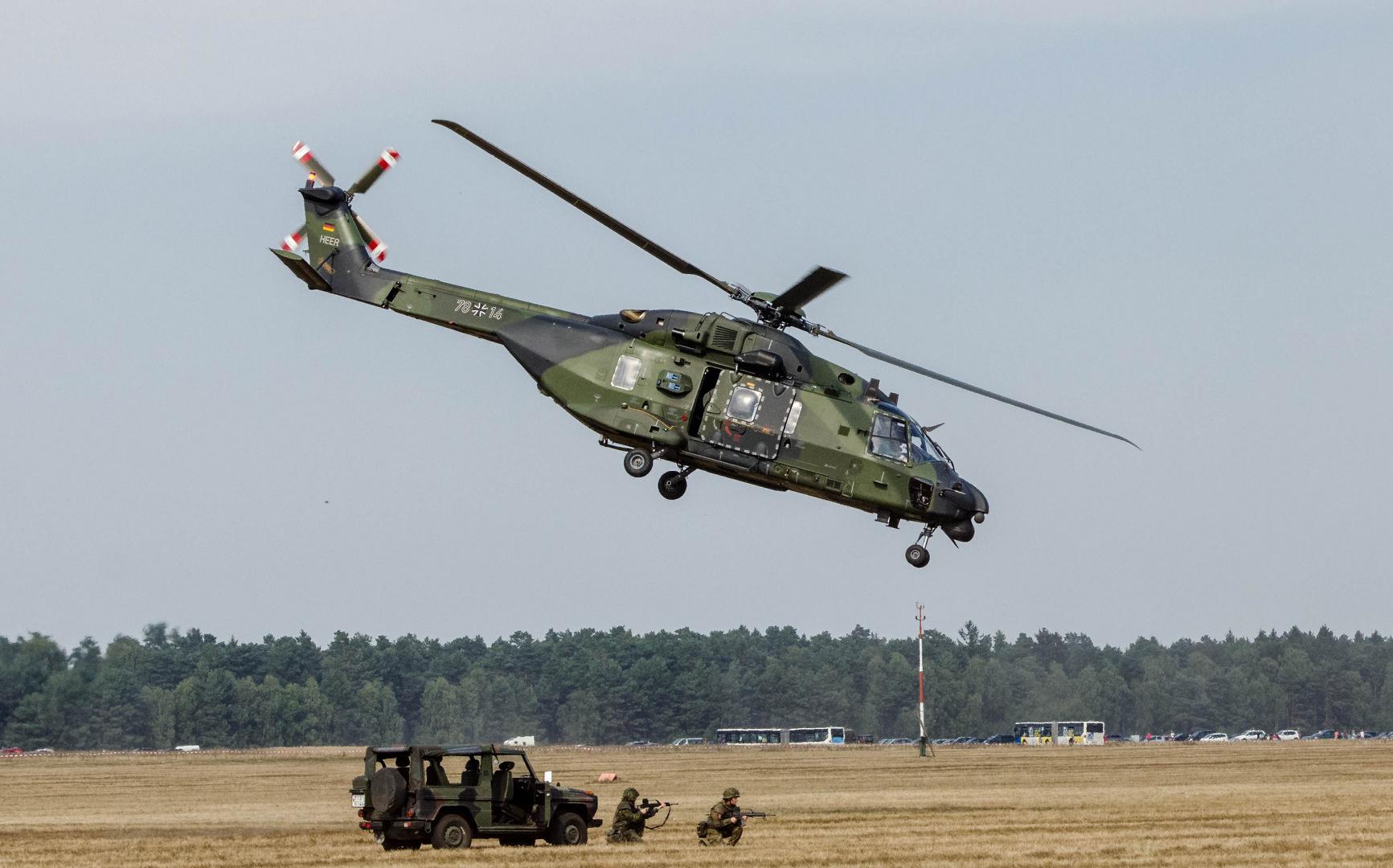 NH90 Rettungsübung in Faßberg