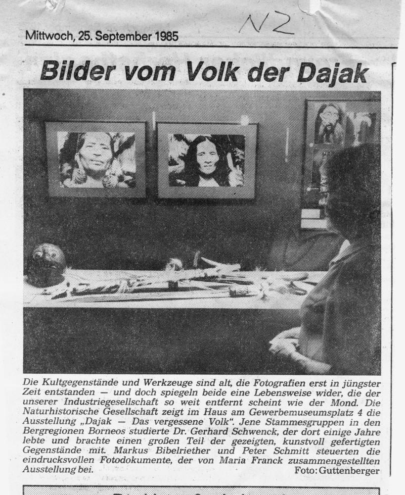 NHG Ausstellung 1985