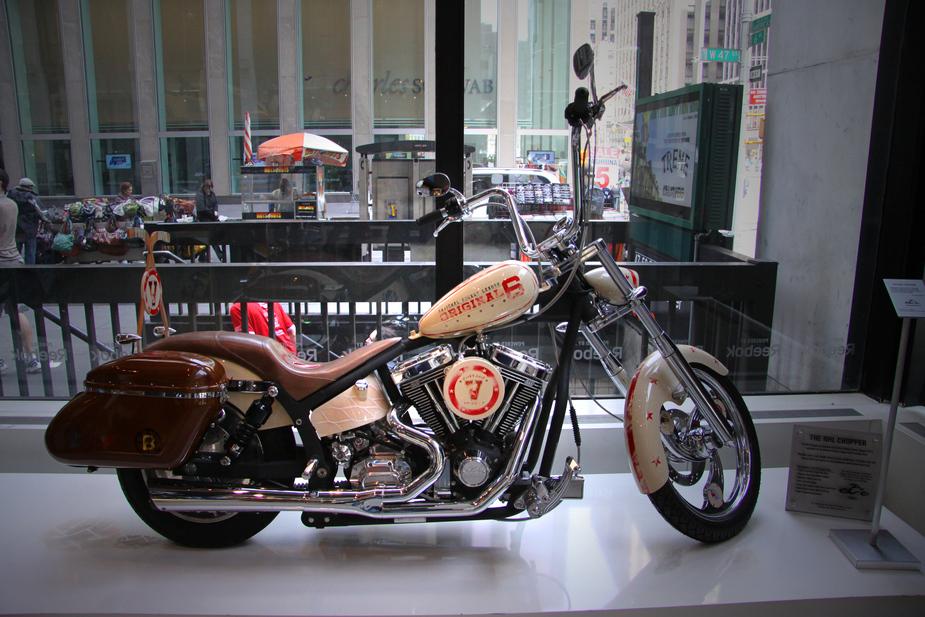 nhl bike customed by occ