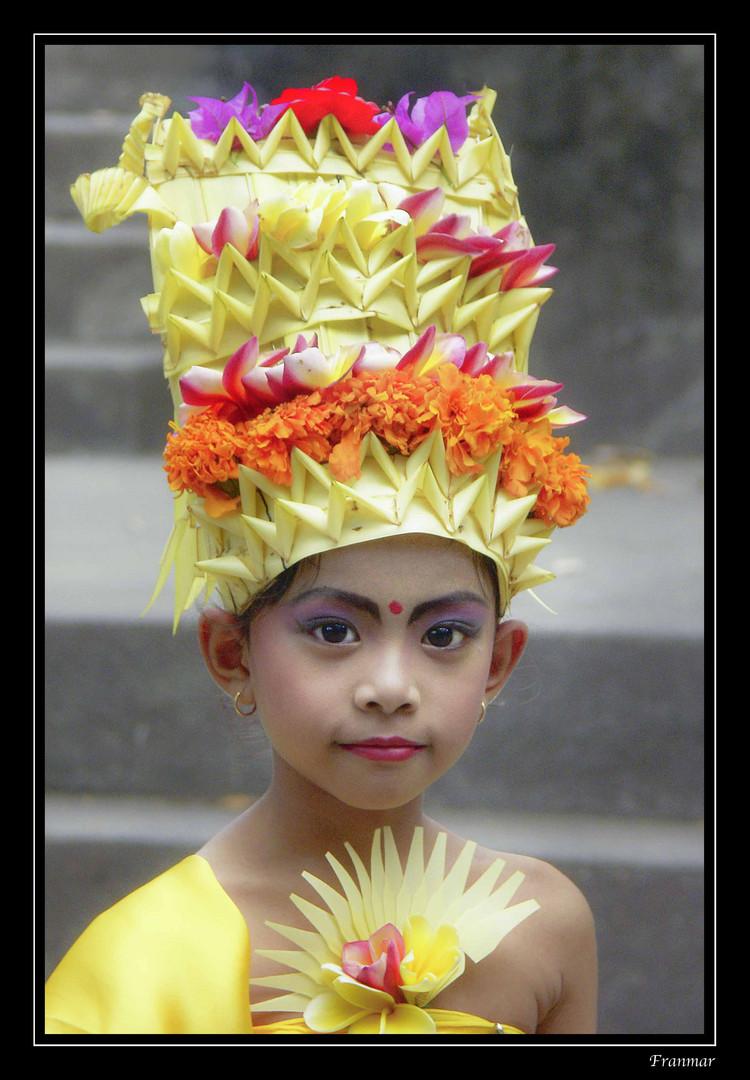 Niña Balinesa