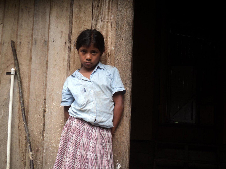 Niña Indigena , costa Rica