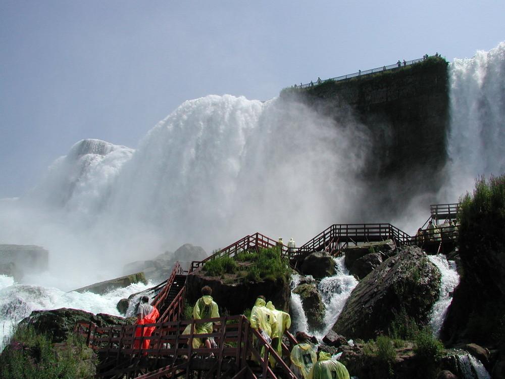 Niagara Falls - Der Weg zur Dusche