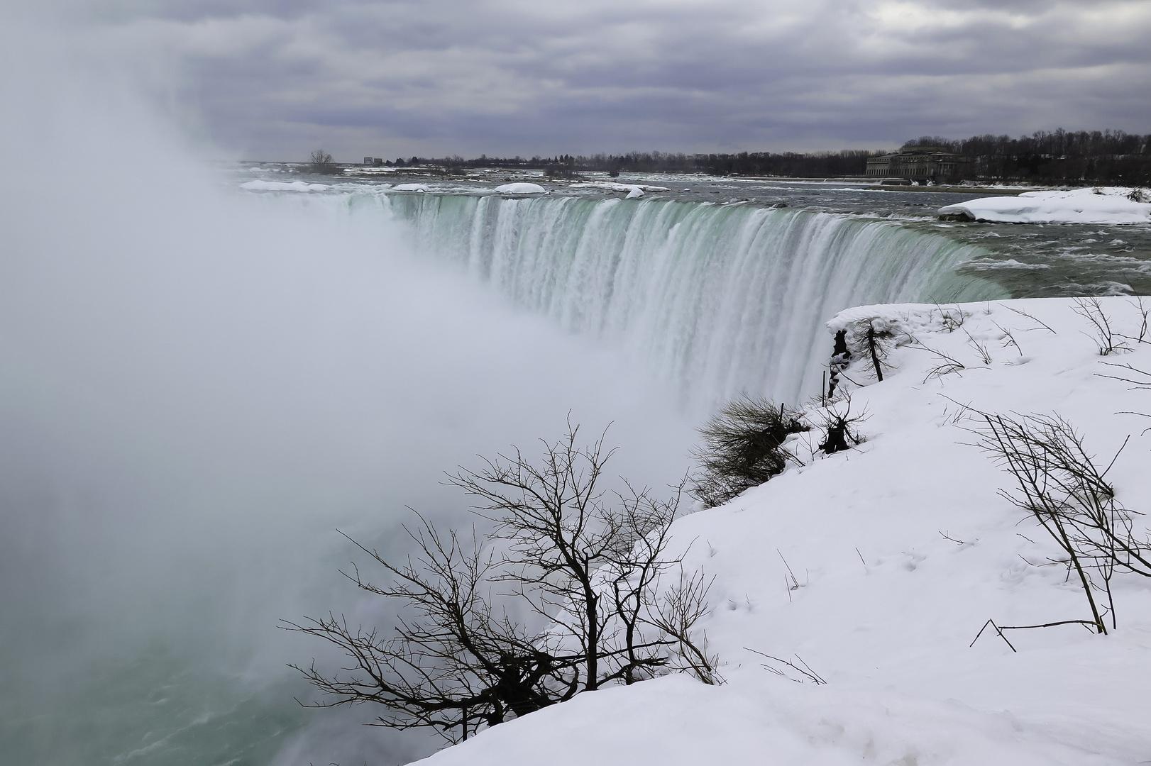 Niagara Falls im Winter
