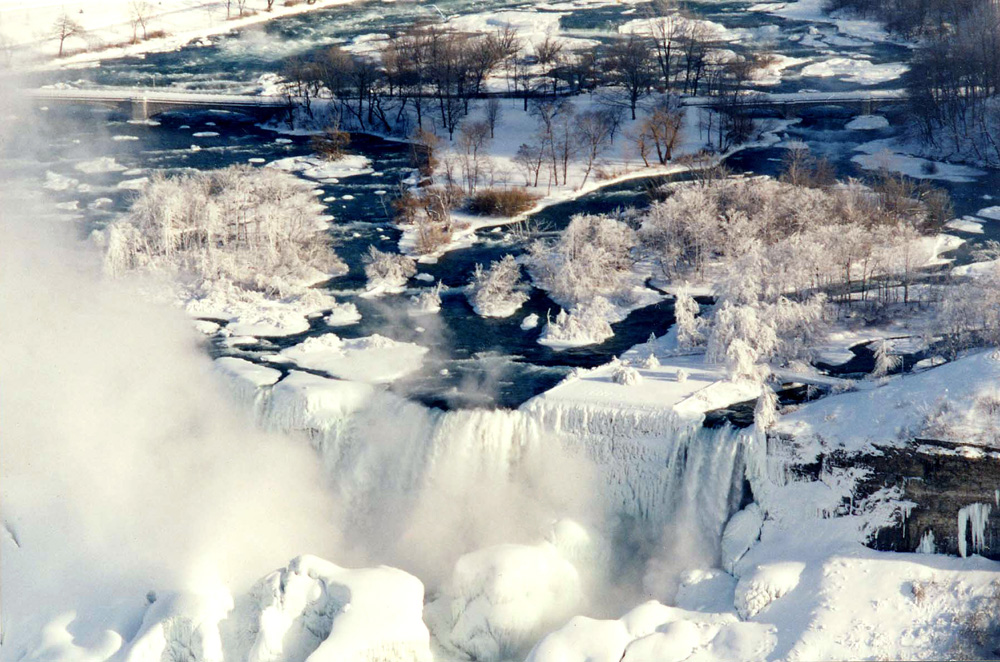 Niagara Falls in Winter - 1994