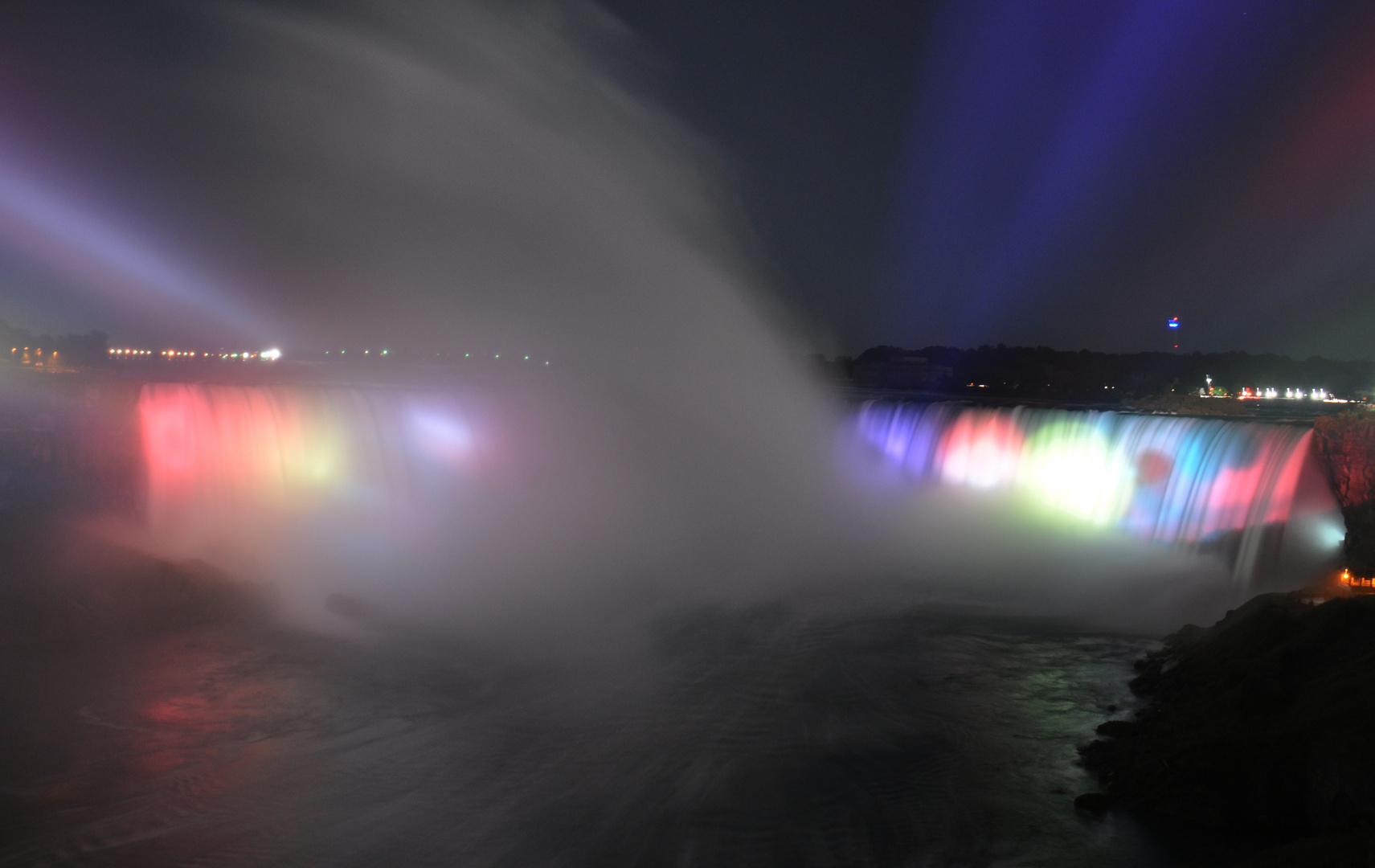 Niagara Falls Langzeitaufnahme