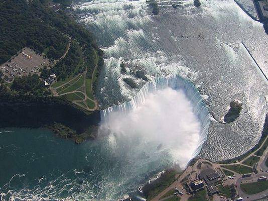 Niagara (Kanada) vom Hubschrauber