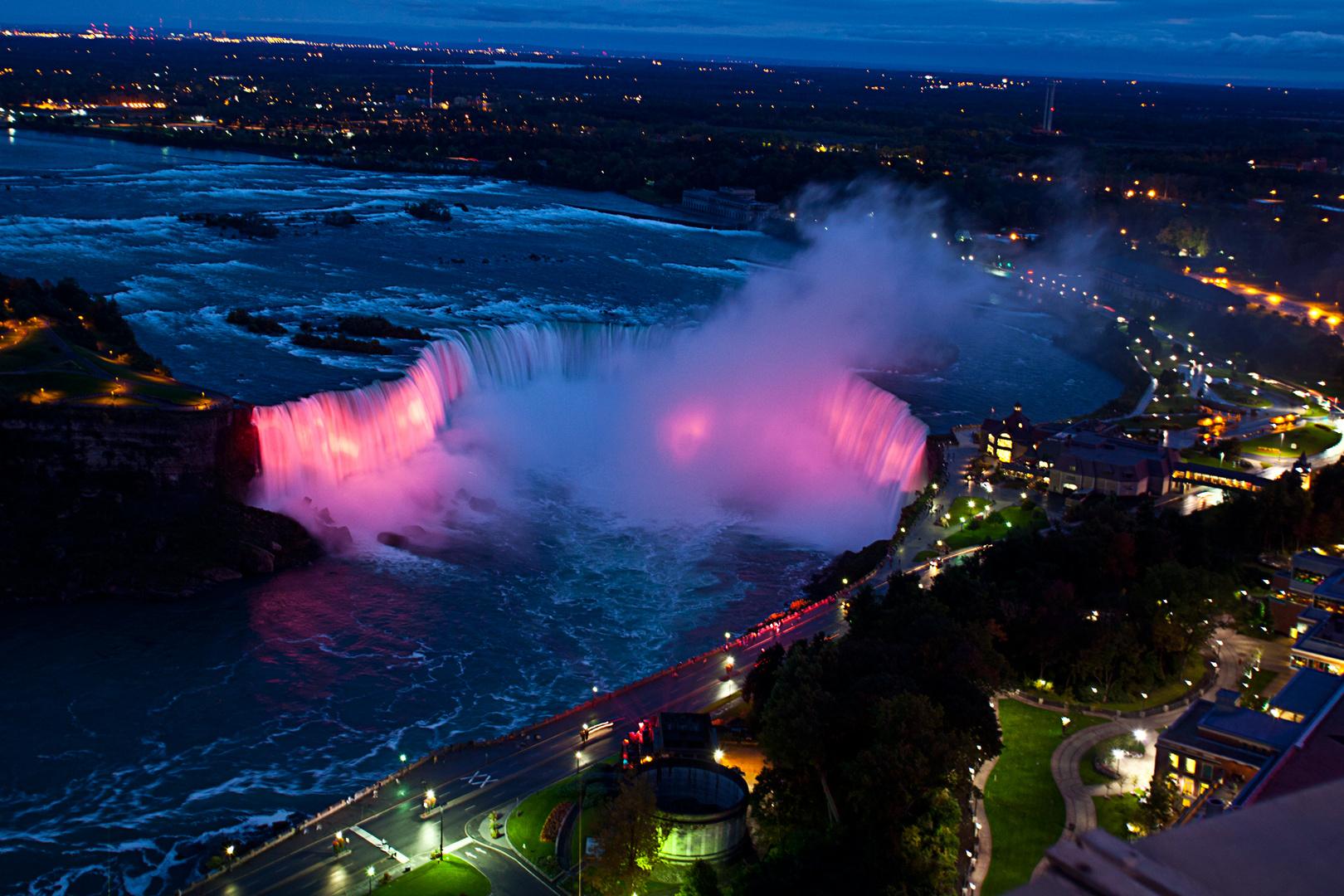 Niagara nachts