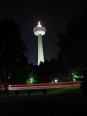 Niagara Tower at Night