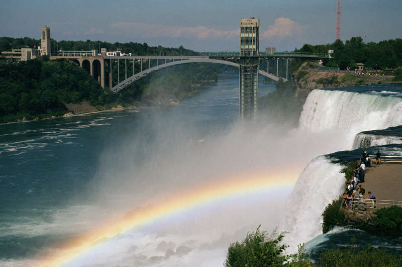 Niagra Falls with Rainbow