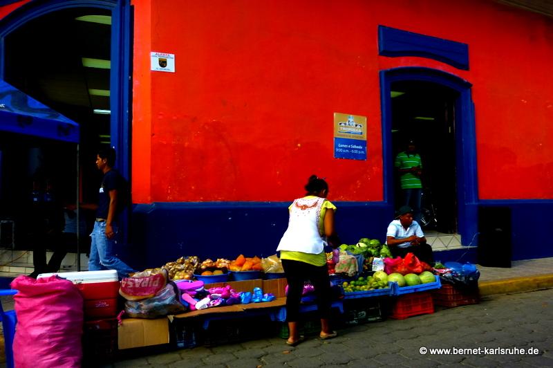 Nicaragua, buntes Rivas