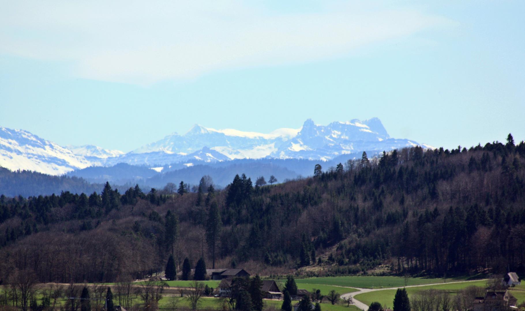 Nice Alp views in Spring