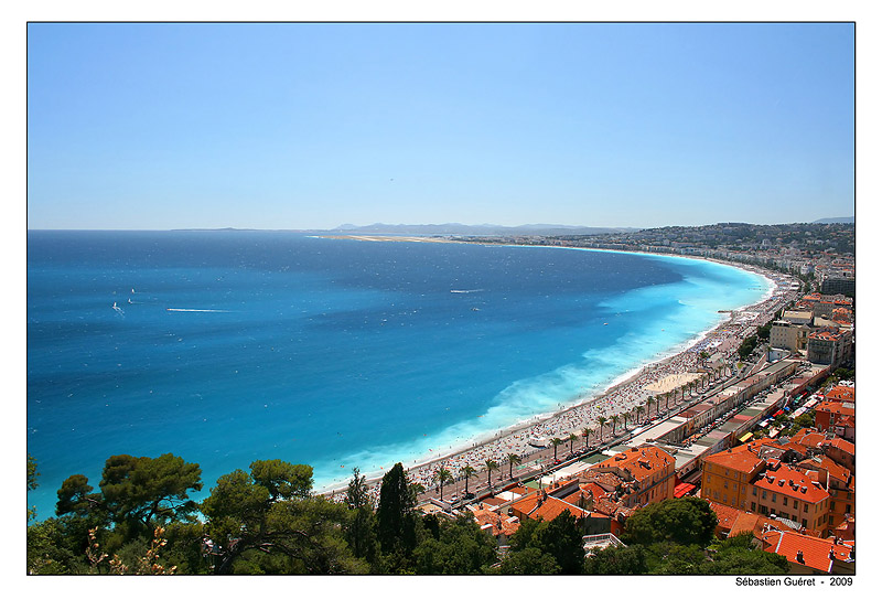 Nice, Baie des Anges, France